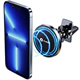 [Strong Magnetic] andobil Mag Safe Car Mount [Doesn't Interfere Wireless Charging] Magnetic Phone Holder for Car Air Vent, Compatible with iPhone 13 Pro Max Mini & MagSafe Case, iPhone 12 Series