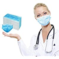 50-Pack Montenmin 3-Layer Safety Anti Dust Disposable Face Mask