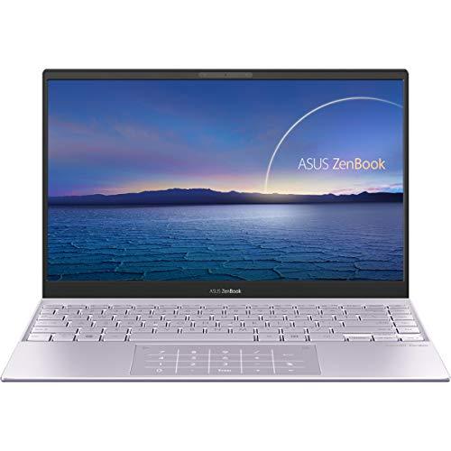 """ASUS ZenBook 13 UX325EA-EG247 - Ordenador Portátil de .3"""" Full HD (Intel Core i7-1165G7, 16GB RAM, 512GB SSD, Intel Iris Xe Graphics, Sin Sistema Operativo) Lila Neblina-Teclado QWERTY español"""