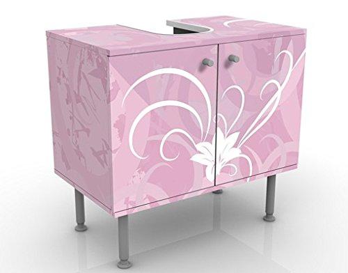 Mueble de baño Design Airy Love 60x55x35cm, Pequeño, 60cm Ancho, ajustable, Mesa de lavabo, Mueble de lavabo, Lavabo, Mueble bajo, Bañera, Baño, Mueble de baño