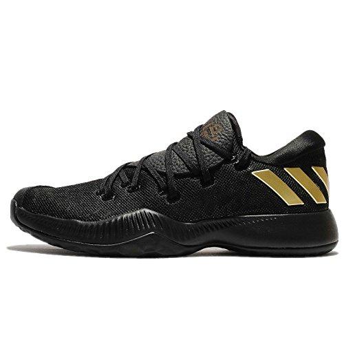Adidas Harden B/E, Zapatillas de Baloncesto para Hombre, Negro (Negbás/Carnoc/Negbás 000), 44 EU
