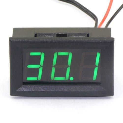 Droking DC 12V Termómetro digital medidor temperatura