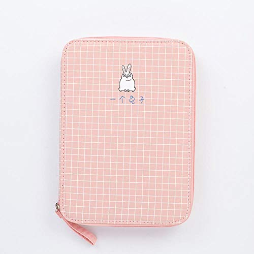Kawaii Cat Dog School Pencil Case for Girls Boys Pen Bag Large Korean Penal for IPAD Box Stationery Pencilcase Pouch Supplies,Style 07 - Rabbit