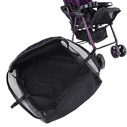 Kinderwagen Wagen Korb Unten Kinderwagen Einkaufskorb Bottom Basket Organizer Buggy Shopping Aufbewahrungskoffer Tasche Schwarz