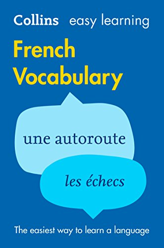Easy Learning French Vocabulary: Trusted support for learning (Collins Easy Learning) (French Edition)