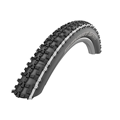Schwalbe Unisex– Erwachsene Reifen, weiß, SMART SAM Perf 57-559-Skin (2)