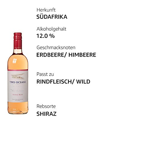 Two Ocean Shiraz Rosé Vineyards Selection Trocken (1 x 0.75 l) - 4