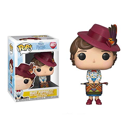 Funko Pop Movies : Mary Poppins with Bag 3.75inch Vinyl Gift for Movie Fans SuperCollection