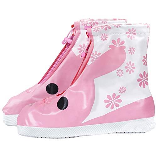 PRETYZOOM 1 Paar Waterdichte Overschoenen Kinderen Regen Schoenen Laarzen Covers Buiten Regen Overschoenen Beschermer Voor Peuters Kinderen Maat S