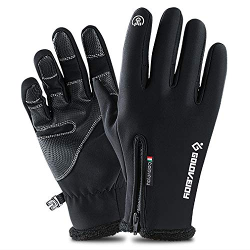 Reiten TOLEMI Thermo-Handschuhe Wandern Sport Radfahren warme Handschuhe mit Anti-Rutsch-Touchscreen-Handschuhe Fahren Winter-Handschuhe f/ür M/änner und Frauen