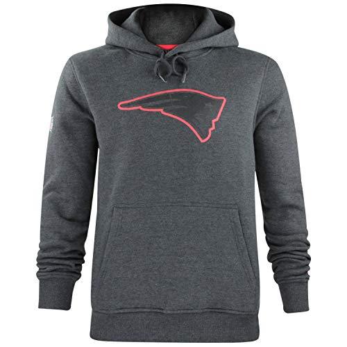 New Era Herren NFL Fan Pack Hoody Kapuzenpullover American Football Two Tone Collection Streetwear Hoodie L New England Patriots