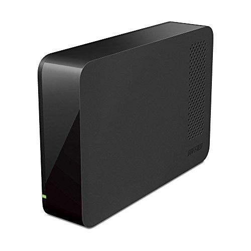 BUFFALO USB3.0 外付けハードディスク PC/家電対応 1TB ブラック HD-LC1.0U3-BKD
