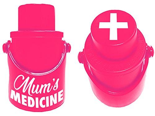 Boxer Geschenken Prosecco Stopper-Mums Geneeskunde, Rood, Een maat