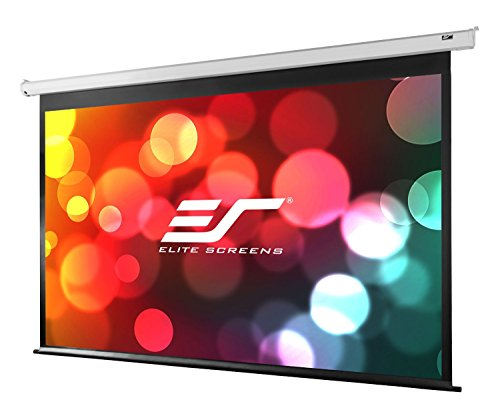 Elite Screens VMAX2, 150-inch 4:3, Wall Ceiling Electric Motorized Drop Down HD Projection Projector Screen, VMAX150XWV2