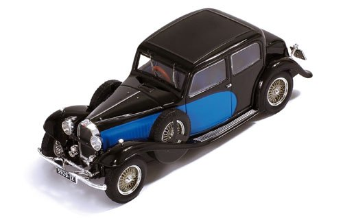 Ixo - Mus058 - Bugatti 57 Galibier - 1935 - Echelle 1/43
