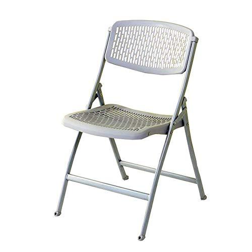 WSDSX Freizeitstühle Klapphocker Zusammenklappbare Büro-Empfangs-Schreibtischstühle Klappbar Einfach Aufbewahrung Langlebig stark