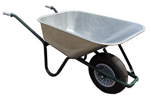 ALTRAD FORT Qualitäts Bauschubkarre Gartenkarre Schiebkarre 100l Liter Stahl NEU