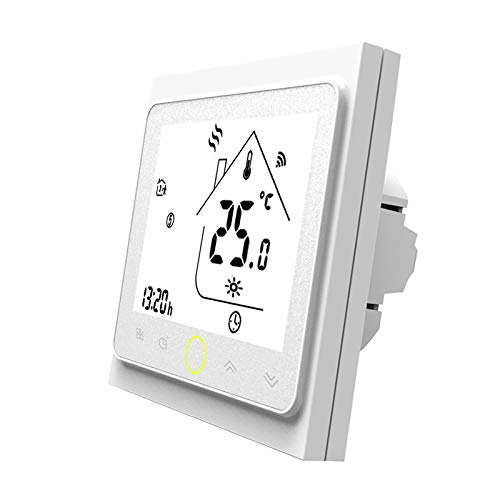 MOES Smart Thermostat WiFi Temperaturregler Smart Life/Tuya APP Fernbedienung für 5A Wasser Fußbodenheizung Funktioniert mit Alexa