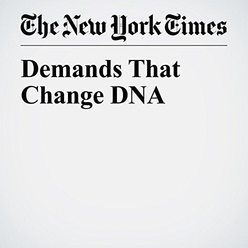 Demands That Change DNA audiobook cover art