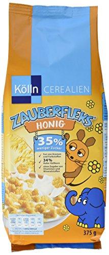 Kölln Zauberfleks Honig, 6er Pack (6 x 375 g)