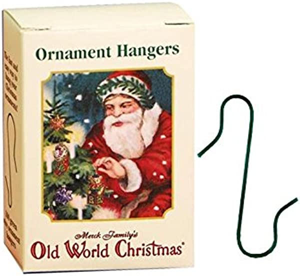 Old World Christmas Ornament Hangers 100 Count Metal Pre Bent For Fake And Real Trees