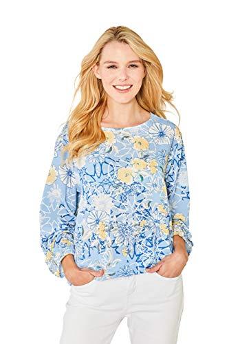 hajo Polo & Sportswear Damen Stylisches Shirt Rundhals Halbarm