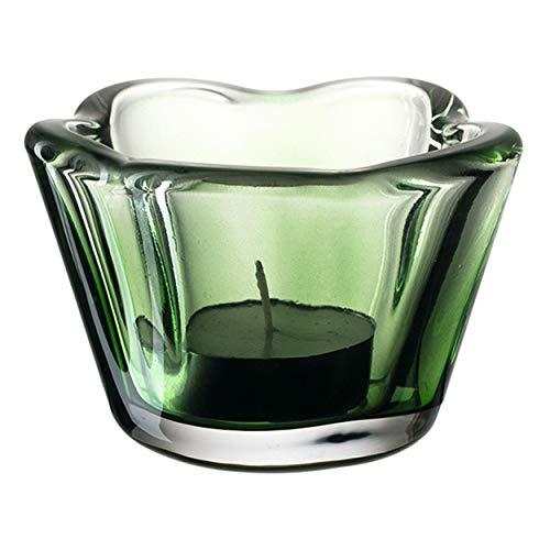 Leonardo Tischlicht 6 cm Casolare Teelichthalter Grün