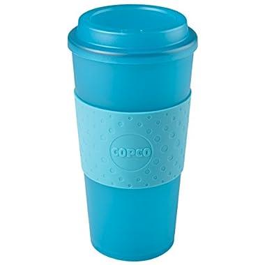 Copco Acadia Travel Mug, 16-Ounce, Translucent Teal