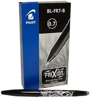 Pilot Frixion Erasable Pen Black Packet of 12 Pieces