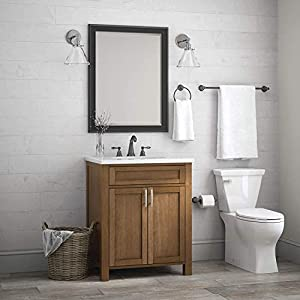 Franklin Brass Kinla 3-Piece Bath Hardware Towel Bar Accessory Set, Oil Rubbed Bronze