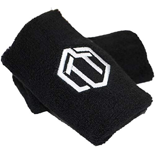 Sporttrend 24 | Kettlebell Handgelenkschutz Set Schwarz | Unterarmschutz Wrist Protection