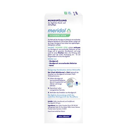meridol SICHERER ATEM Mundspülung, 400 ml - 3