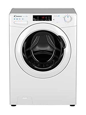 Candy CSO16105D3 Freestanding Smart Pro Washing Machine, WiFi Connected, 10kg Load, 1600rpm, White
