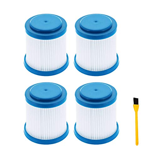 Carkio 4PCS Replacement VPF20 Pleated Vacuum Filter Compatible with Black and Decker 2-in-1 Cordless Stick,Compare to Part 9060605801 90606058-01