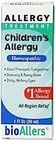 海外直送品NatraBio bioAllers Childrens Allergy Relief, 1 OZ (Pack of 2)