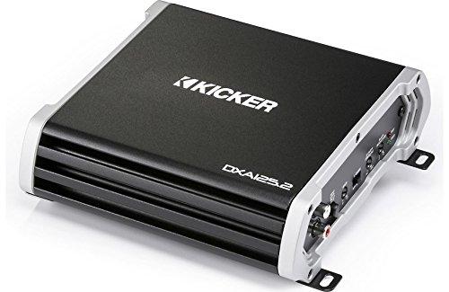 Kicker 43DXA1252 Car Audio 2 Channel Stereo Speaker Amplifier 250W Amp DXA125.2 (Renewed)