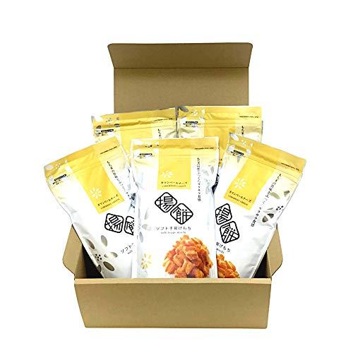 おかき ソフト 手揚げもち 5袋入り カマンベールチーズ