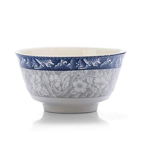 Pgs Suppenschüsseln, Kreative Japanische Glasurfarbe Handbemalte Ländliches Gemüse Keramik (eine Schachtel Zehn Sätze) Nudel-Schüssel