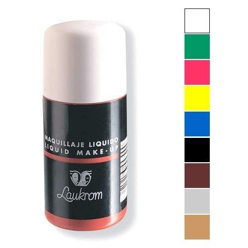 Laukrom Maquillaje Liquido, Color Negro - 75 mililitros
