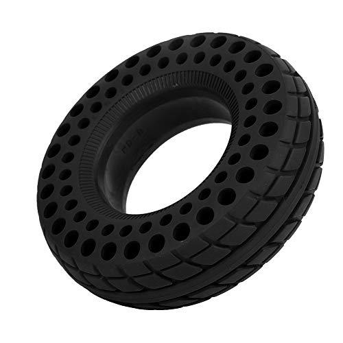 Pwshymi Neumático de Rueda Celular Neumático de Scooter de Cuatro Ruedas Neumático de Scooter de 6 Pulgadas para Scooter de Cuatro Ruedas(Negro)