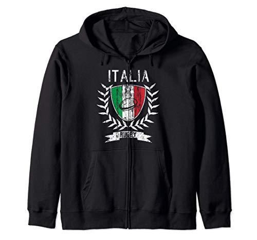 Maglia da rugby Italia 2021 Italia rugby Felpa con Cappuccio