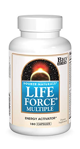 Source Natural Life Force Multiple - Energy Activator - 180 Capsules