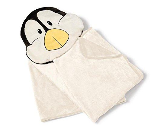 Nici 39934 - Plüschdecke Pinguin, 144 x 120 cm