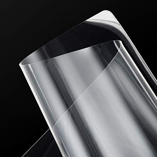 KDDEON Mantel Transparente de TPU de Poliuretano Inodoro Ignífugo,Mantel Protector de Cubierta de Mesa de Comedor/Escritorios Impermeable/Anti-Escaldado,45 Tamaños (70x160cm/28x63in)