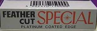 Feather Cut Special Platinum Coated Edge Razor Blades (10 Blades)