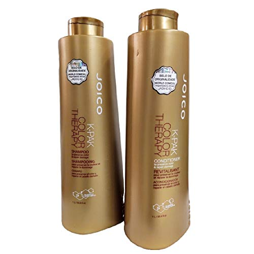 Kit Joico K-Pak Color Therapy Shampoo 1000ml + Condicionador 1000ml