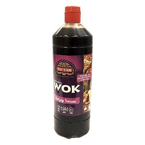 GoTan Asia-Sauce Ketjap-Sesam 1000ml (Sesam-Soja) Wok Essentials