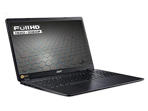 Notebook SSD Acer Intel N4120, 4 core, RAM 8GB, SSD 256GB M2 pci, display 15.6' Full hd led, Svga Intel UHD 600, 3 USB, Wi-Fi, hdmi, BT, lan, Win 10 PRO, Libre Office, Pronto all'Uso, Gar. Italia