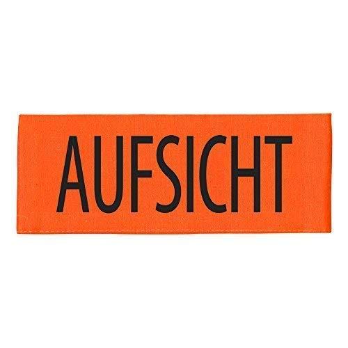 ARMBINDE Baumwolle mit Aufdruck - Aufsicht - 30734 orange