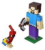 LEGO Bigfigurine Steve et Son Perroquet